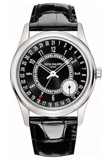 Patek Philippe Calatrava Date 6006 6006G-001 watch replica